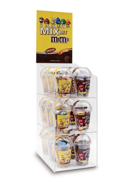 Display M&M'S-MIX-Serie