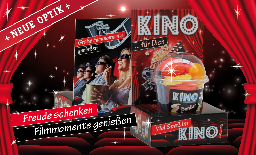 Snack-Service Kino Presenter