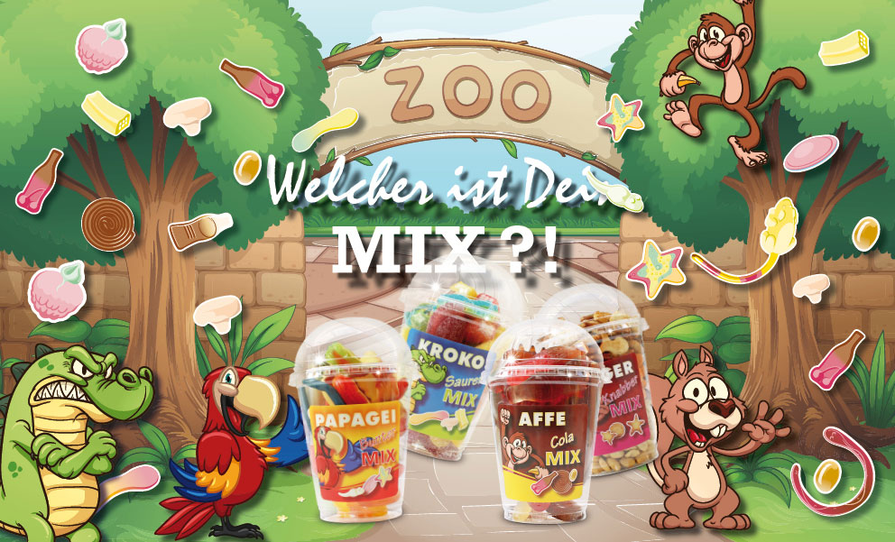 Snack-Service Zoo Mix