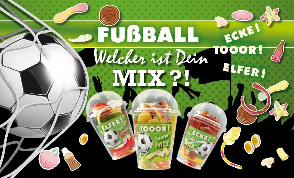 Snack-Service Fussball Mix